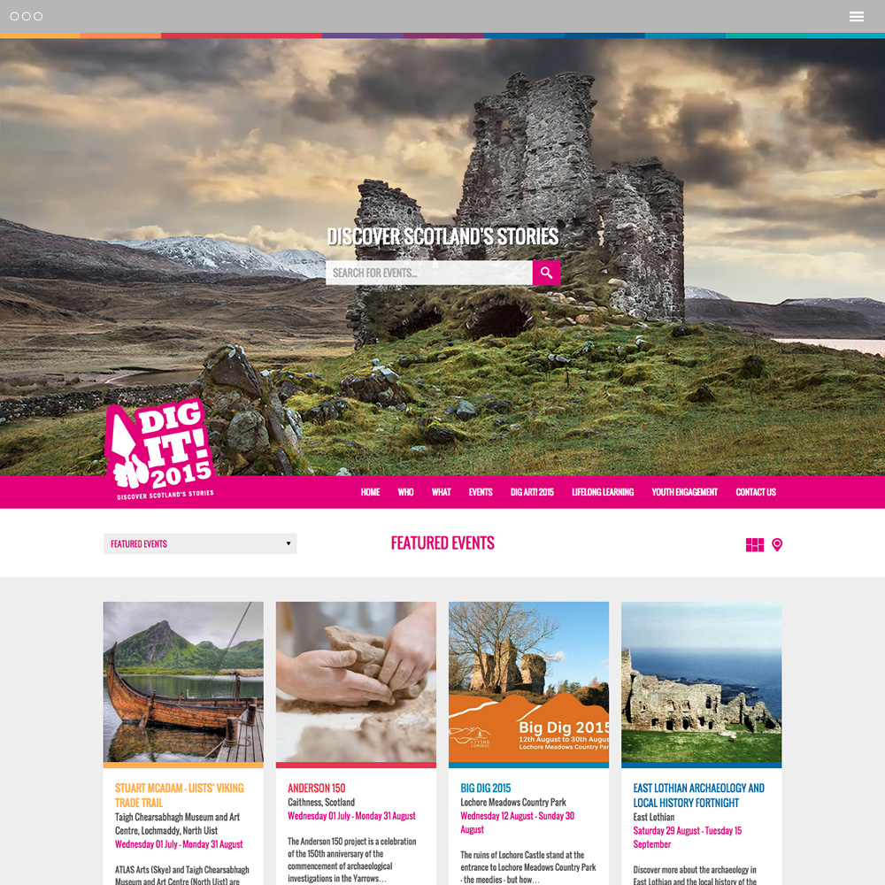 Discover Scotland's Stories